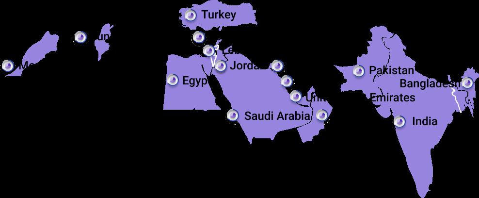 N2 coverage map